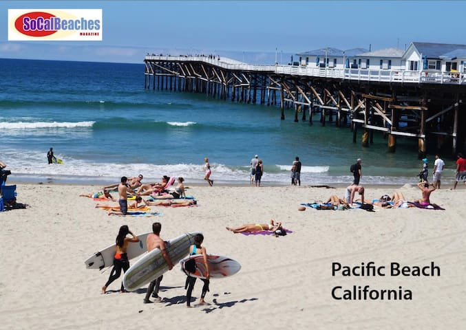 Pacific Beach, Location, Free Parking, Amenities