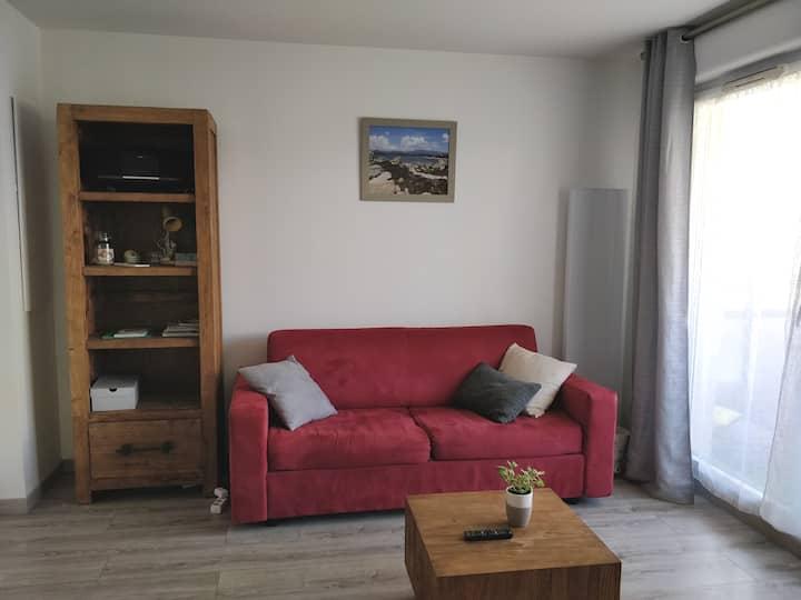 Gemütliche Wohnung für einen Besuch in Lyon