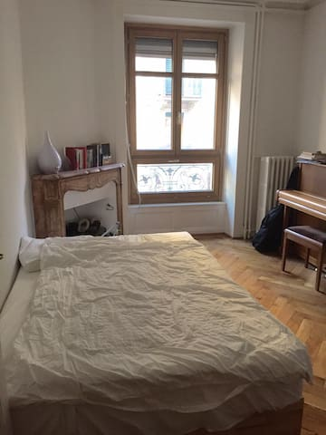 Old Style Appartment Near Station - Genève - Apartment