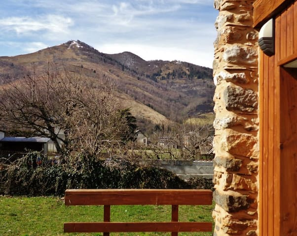 Ancienne grange rénovée au pied du pic du midi