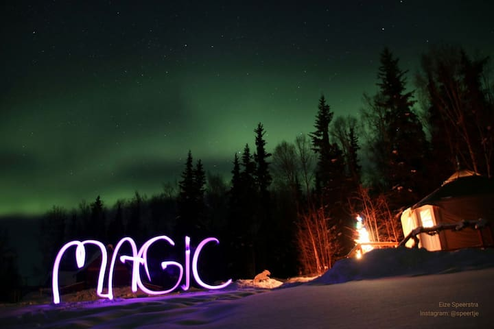 Guests say that a yurt stay is nothing short of magic!