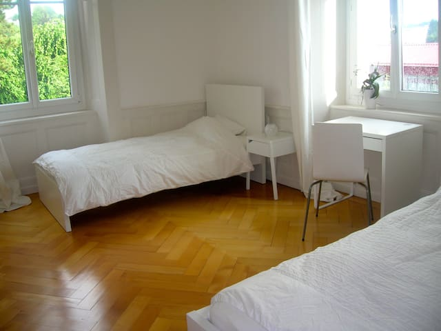 Big apartment for 6 people! - La Chaux-de-Fonds - Lägenhet