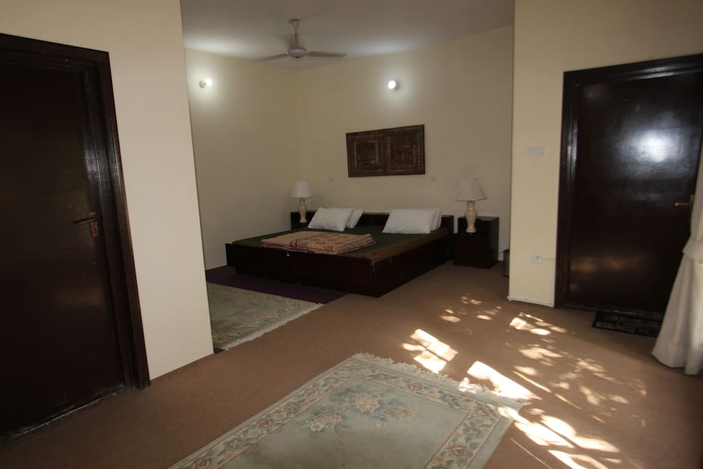 Guestroom one (Sleeping Area)