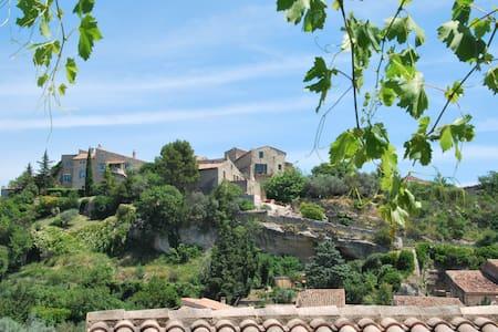 Charmante maison troglodyte - Cabrières-d'Aigues
