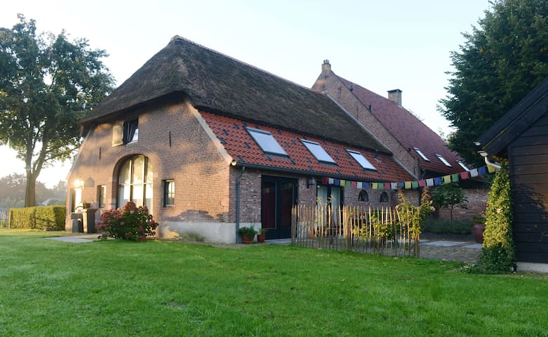 Farmhouse in city, close to nature reserve