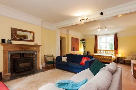 Country house, garden, huge studio double room - Buckfastleigh - Bed & Breakfast