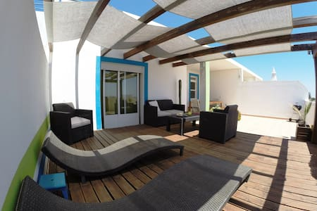 Relaxing Terrace with Ocean View - Santa Luzia