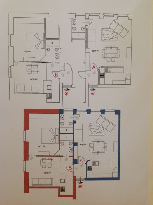 APARTMENT MAP (PIANTINA DELL'APPARTAMENTO)