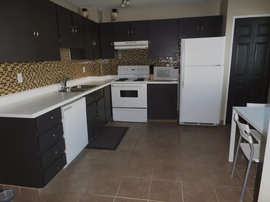 Kitchen will be shared