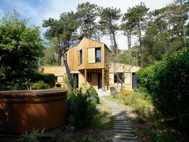 2 ch,  sdb privative, forêt / mer - Jard-sur-Mer - Hus