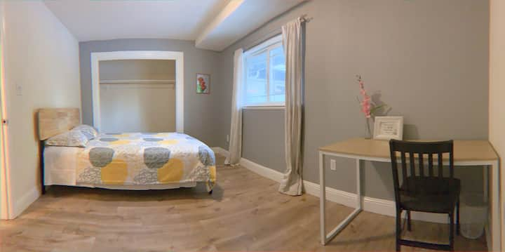 Private room13 queen bed mission Fremont May'smile