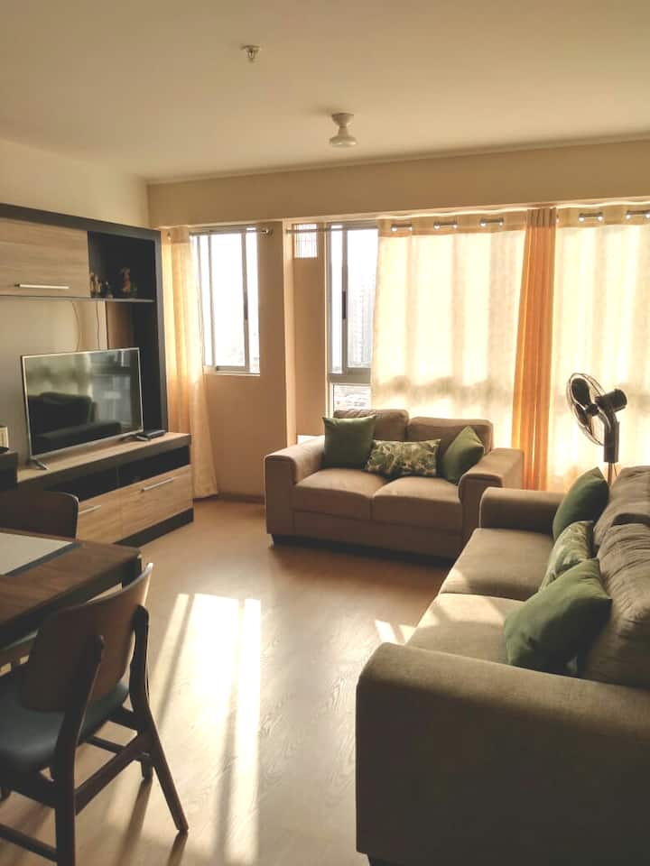 Furnished aparment, with pool