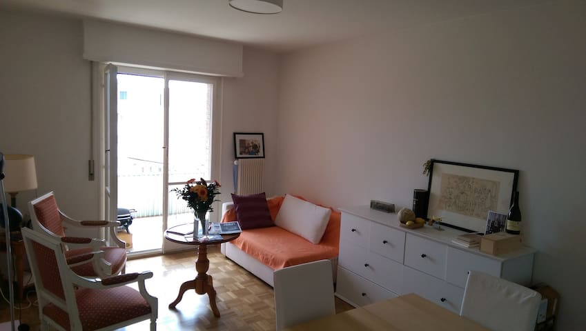 Apartement3 rooms with balcony - Paudex - Wohnung