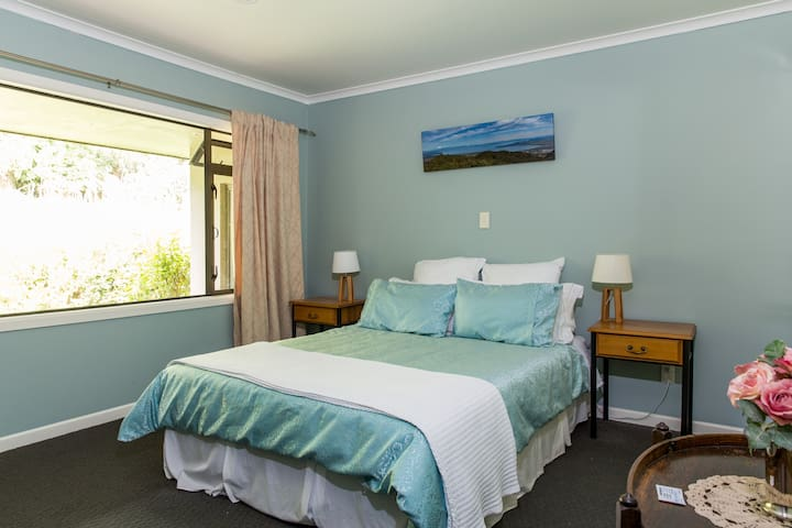 This is the main guest room, with en suite