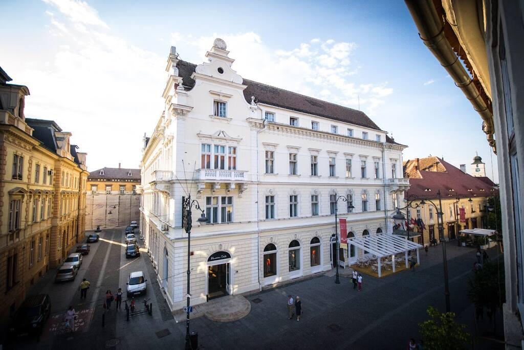 View from window - Imparatul Romanilor Hotel