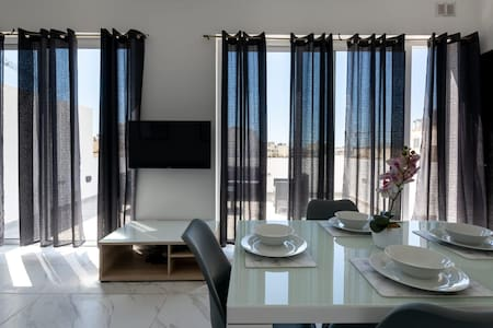 Extremely Beautiful brand new seaside penthouse