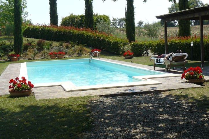 Casa nel Chianti con piscina - Castelnuovo Berardenga - Hus