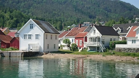 Loft-apartment -20 meters from the Sognefjord