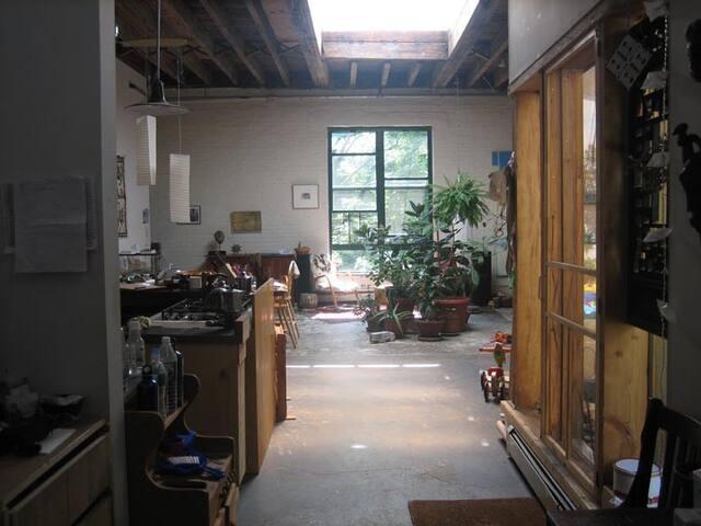 Wonderful artists' loft in Brooklyn - Brooklyn - Loft