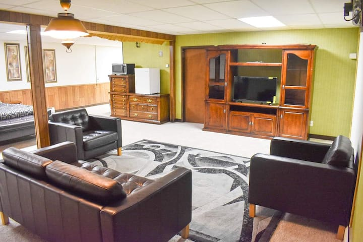Huge basement suite with private entrance!