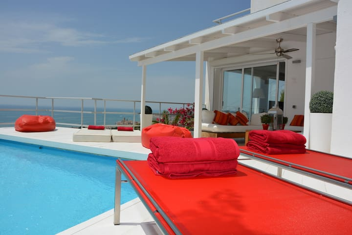 Relax with this amaising View. One of the best view and orientation. South. View in the whole Villa.