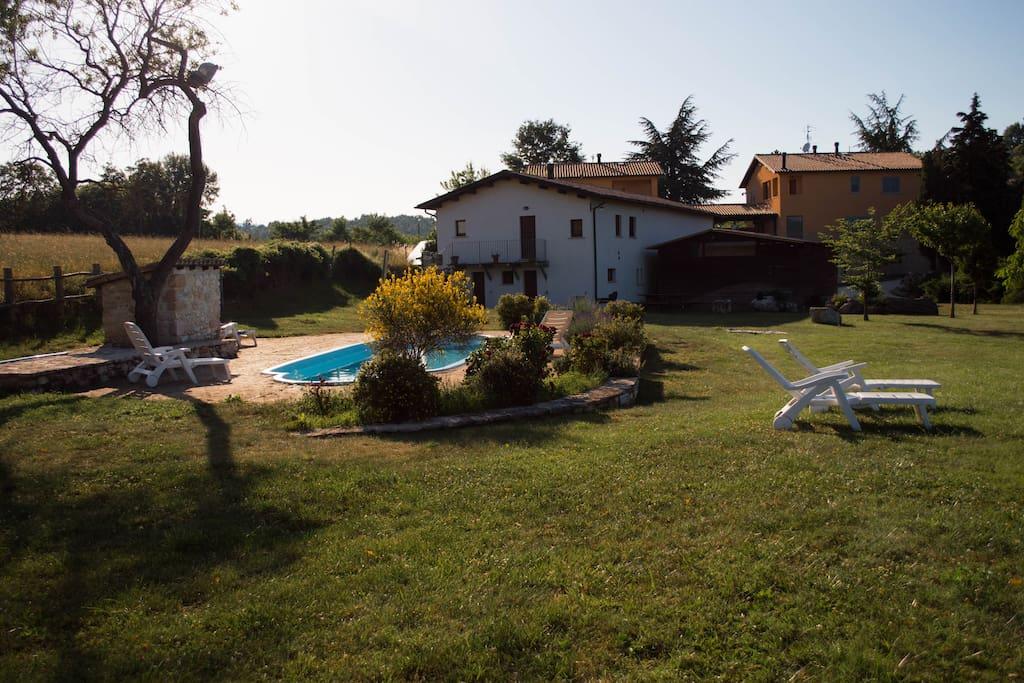Casa con piscina e spa vicino rasiglia agriturismi in - Agriturismo con piscina vicino roma ...
