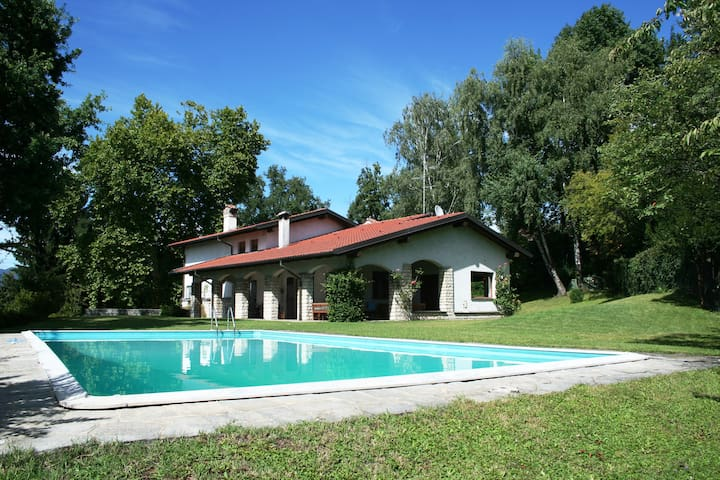 Villa in Brianza, just off Milan