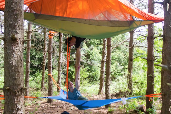 Camp SkyTent: Group Camping!