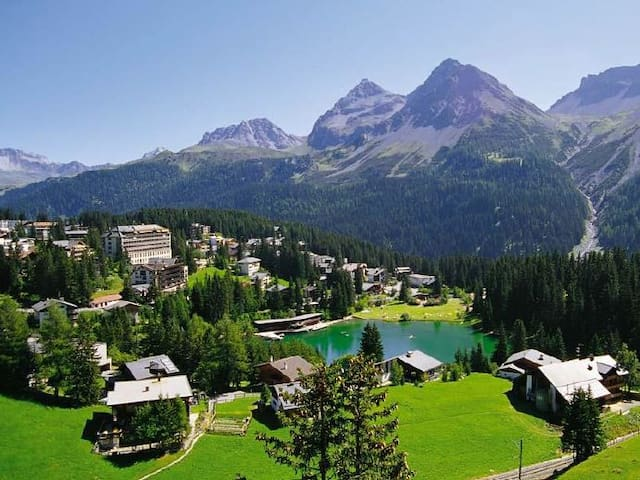 Lovely Appt. in center Arosa with stunning view! - Arosa - Huoneisto