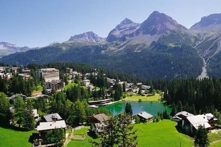Lovely Appt. in center Arosa with stunning view! - 阿罗萨 - 公寓