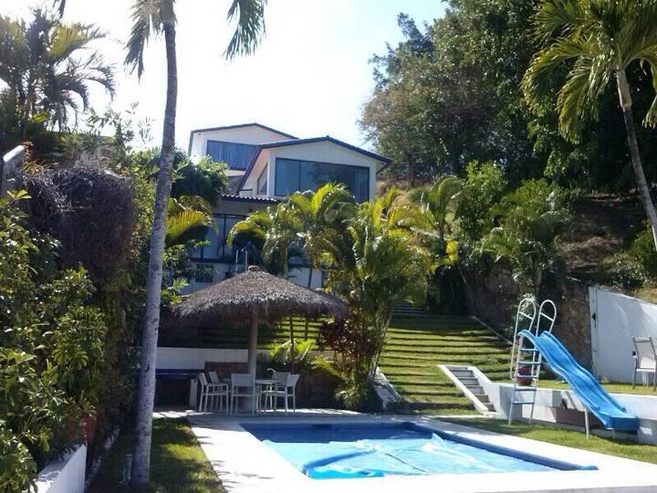 maravillosa casa para vacaciones
