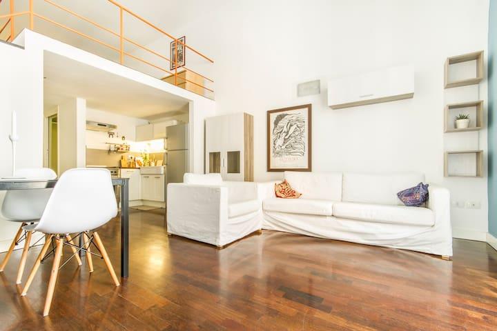 Loft centro storico-El Doncito - Palerme - Appartement