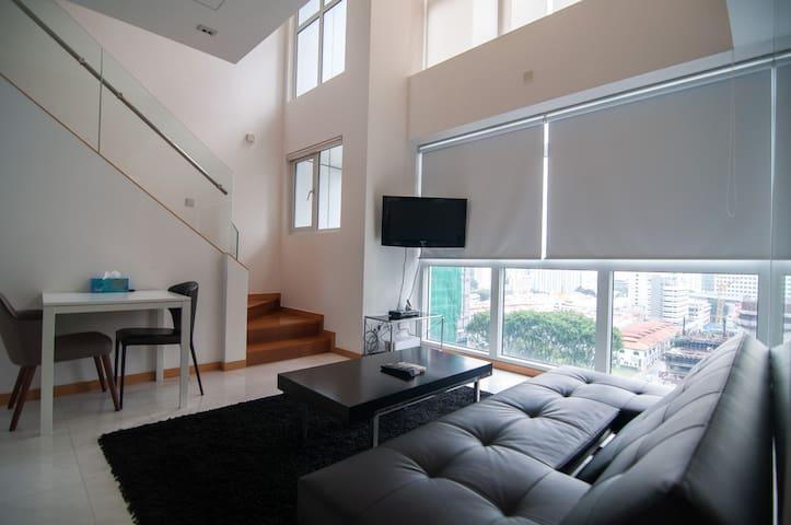 Anson Premium 1 Bed Apt Loft AC - Singapore - Apartment