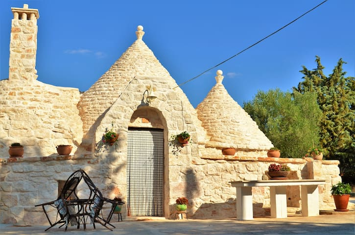 Trullo between the 2 seas of Puglia - Villa Castelli