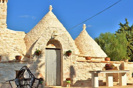 Trullo between the 2 seas of Puglia - Villa Castelli - Erdhaus