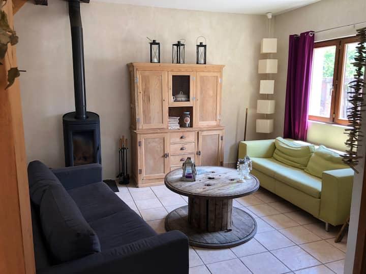Maison individuelle dans parc des Vosges du nord
