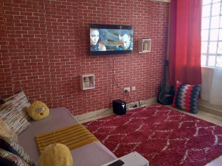 Nairobi, One bedroom apartment. Next to TRM mall