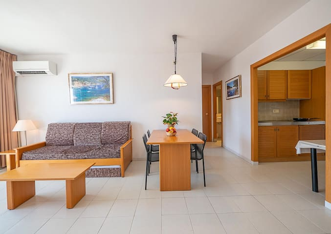 Apartament 2 dormitoris 4-7 pax