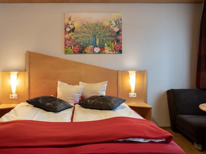 Hotel Seerose Lindau, (Lindau am Bodensee), Vierbettzimmer mit WC und Dusche