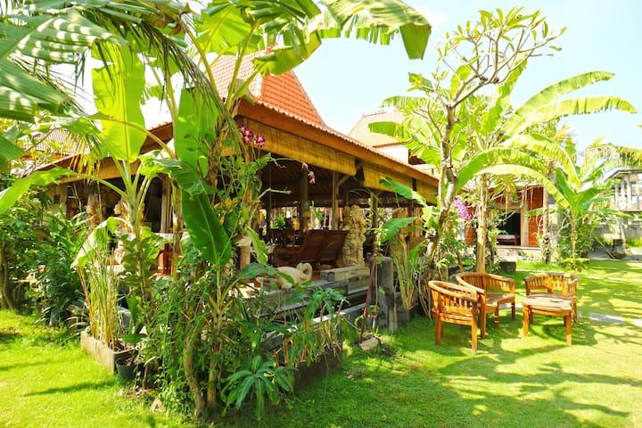 Denpasar Cheap Cozy Room with Garden View