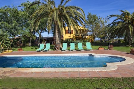 Incredible villa in La Selva for 14 guests, 11km from the beach! - Costa Dorada - Villa