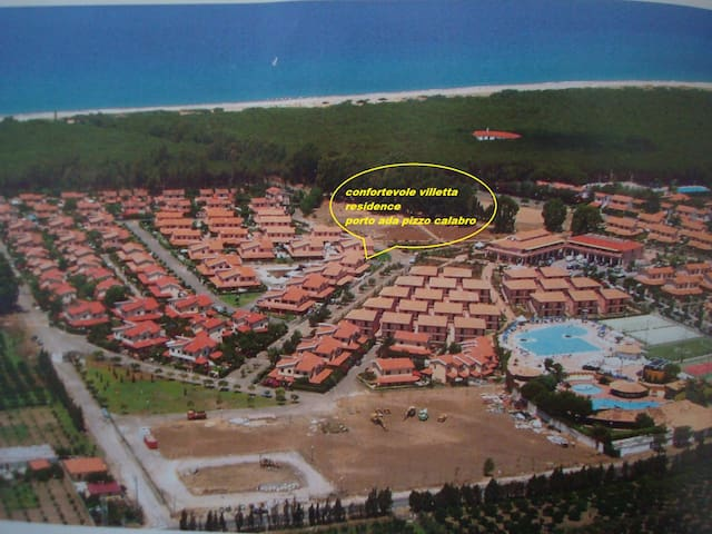 confortevole villetta residence porto ada pizzo c. - Gioia Tauro - วิลล่า