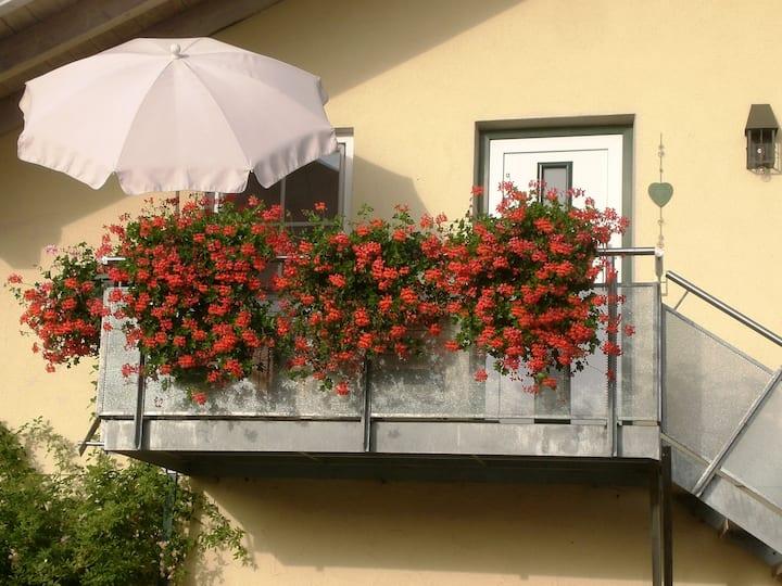 Appartement nahe Salzburg mit Gartenanteil