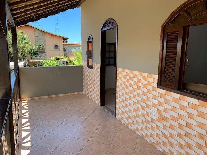 Aconchegante apartamento com 02 quartos em Atafona