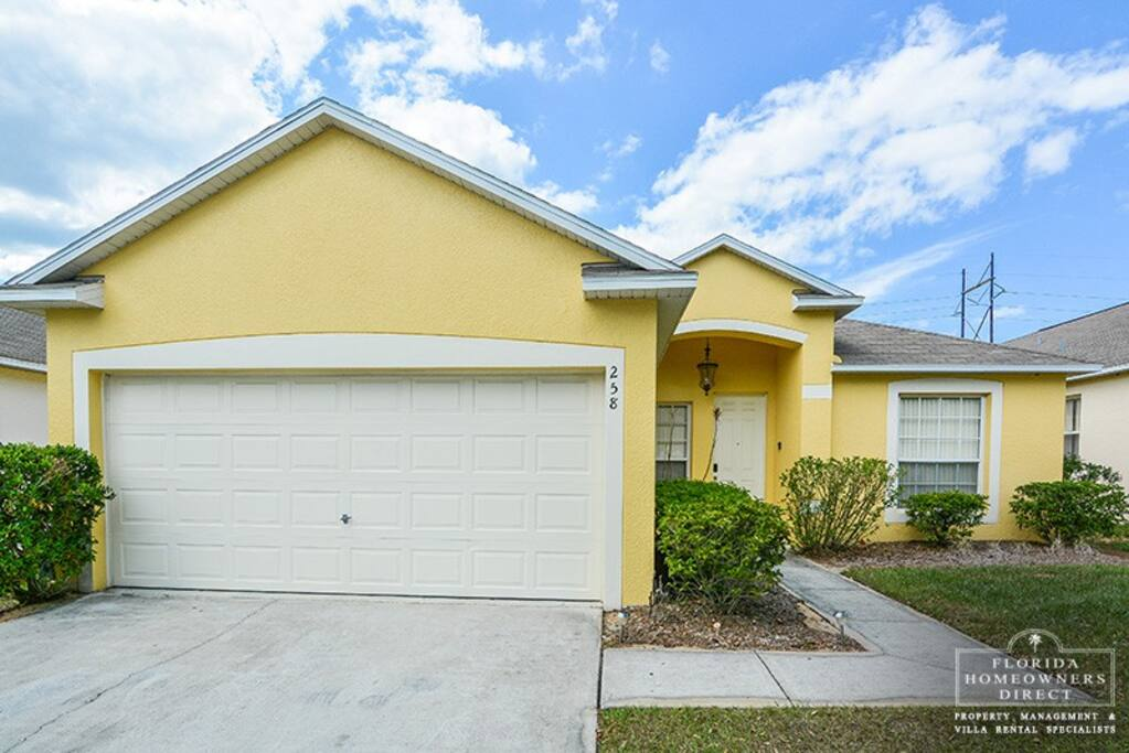 Davenport 5 Bedroom Vacation Rental waiting for you and your family