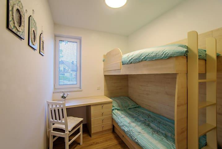 Second bedroom - bed 80 x 200