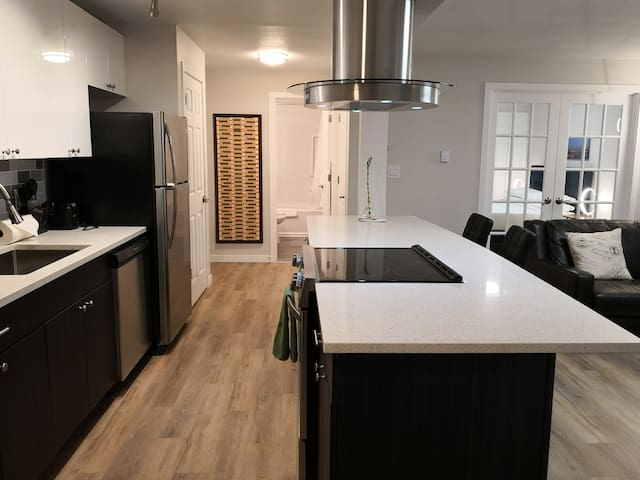 Newly Renovated One Bedroom, Walk to Space Needle