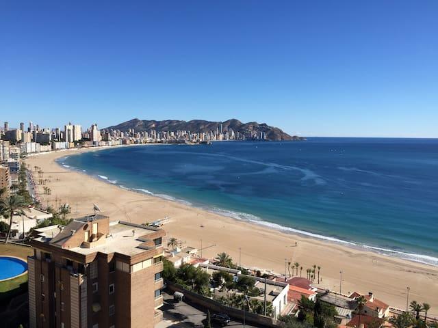 Apartamento Benidorm Playa Poniente con vistas