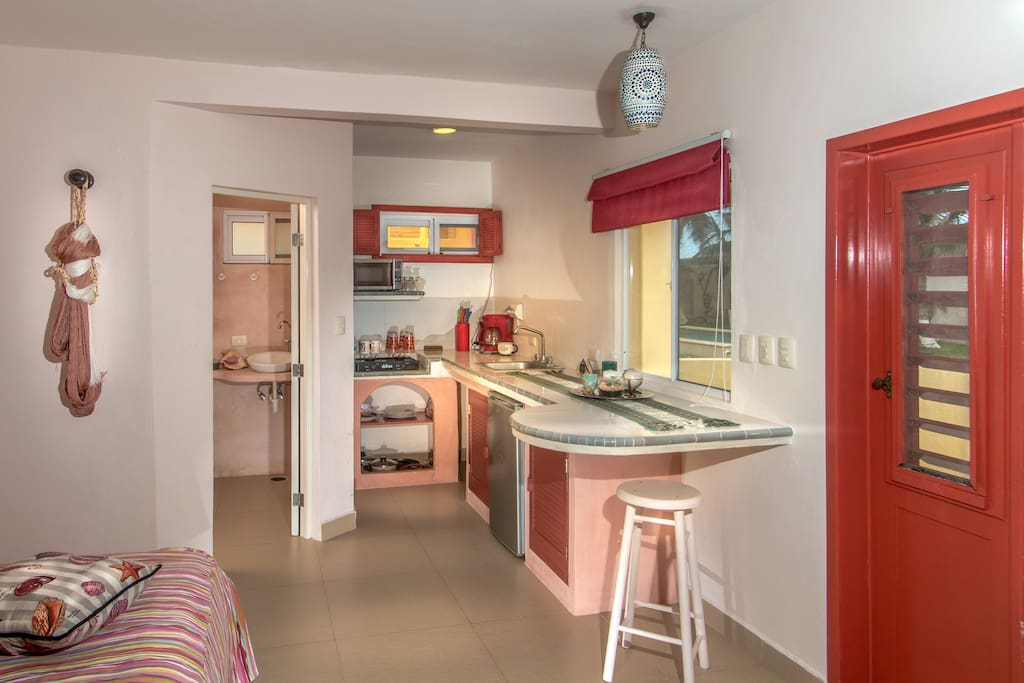 Several guests have rented the bungalow for the whole winter. Ask us for a good price!