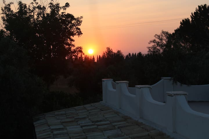 Villa Augusta sunset view